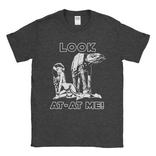 """""""Look AT-AT Me!"""" męski t-shirt"""