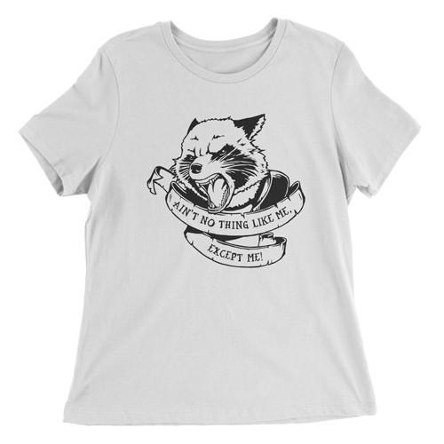 """Rocket - Ain't No Thing..."" damski t-shirt luźny"